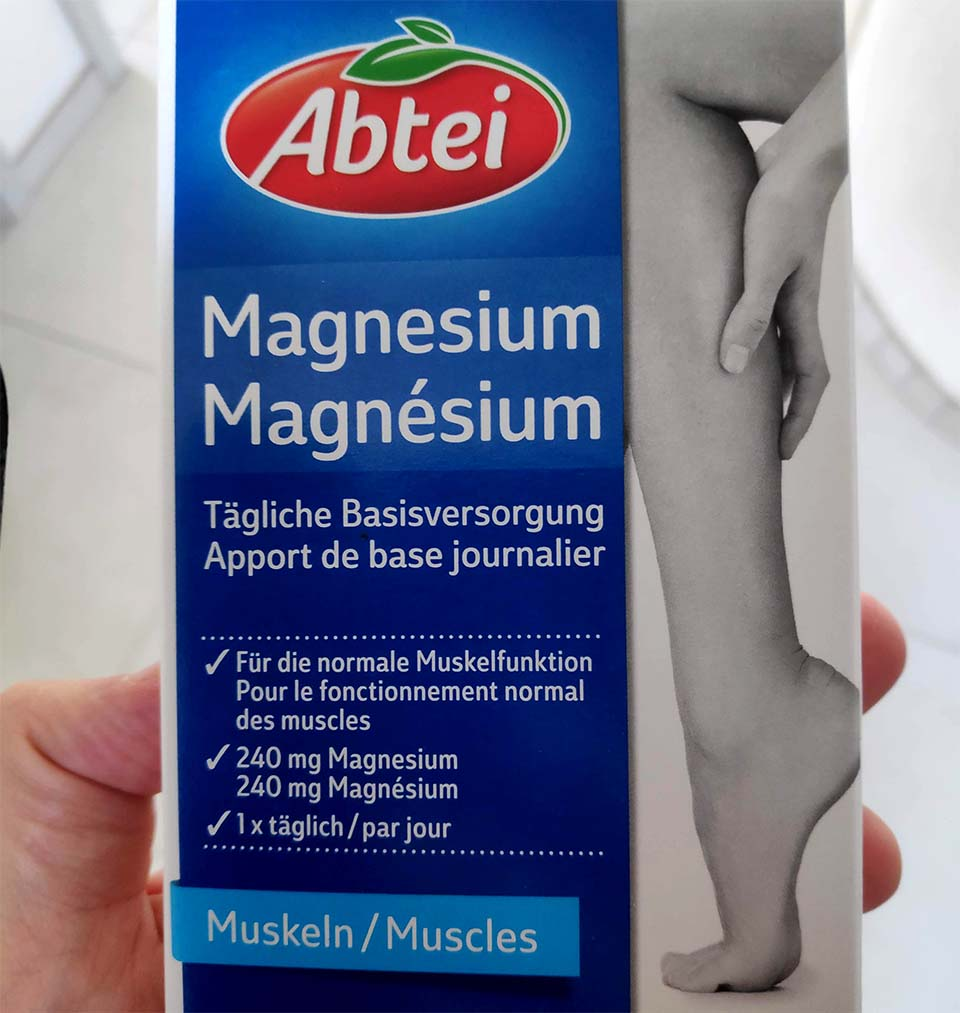 Magnesium I personally use