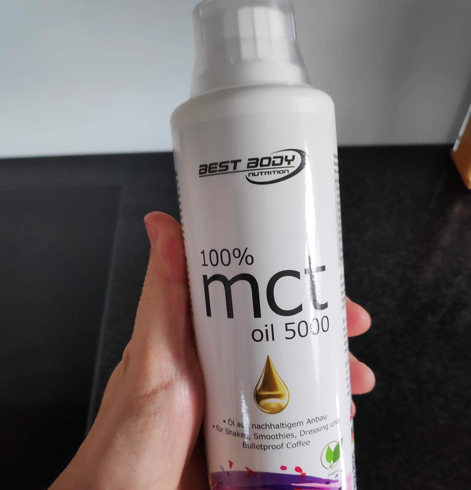 The MCT Oil I now use daily