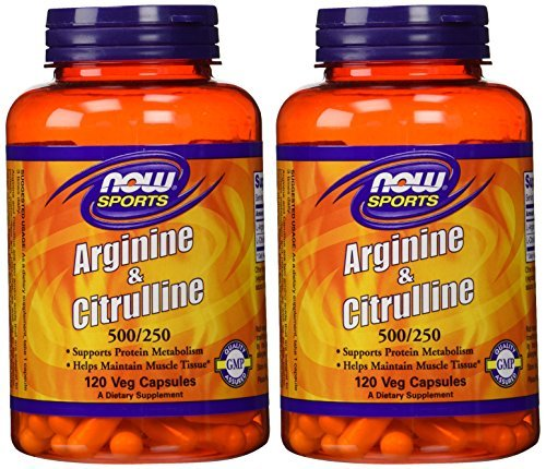 Arginine supplements are almost always coupled with citrulline