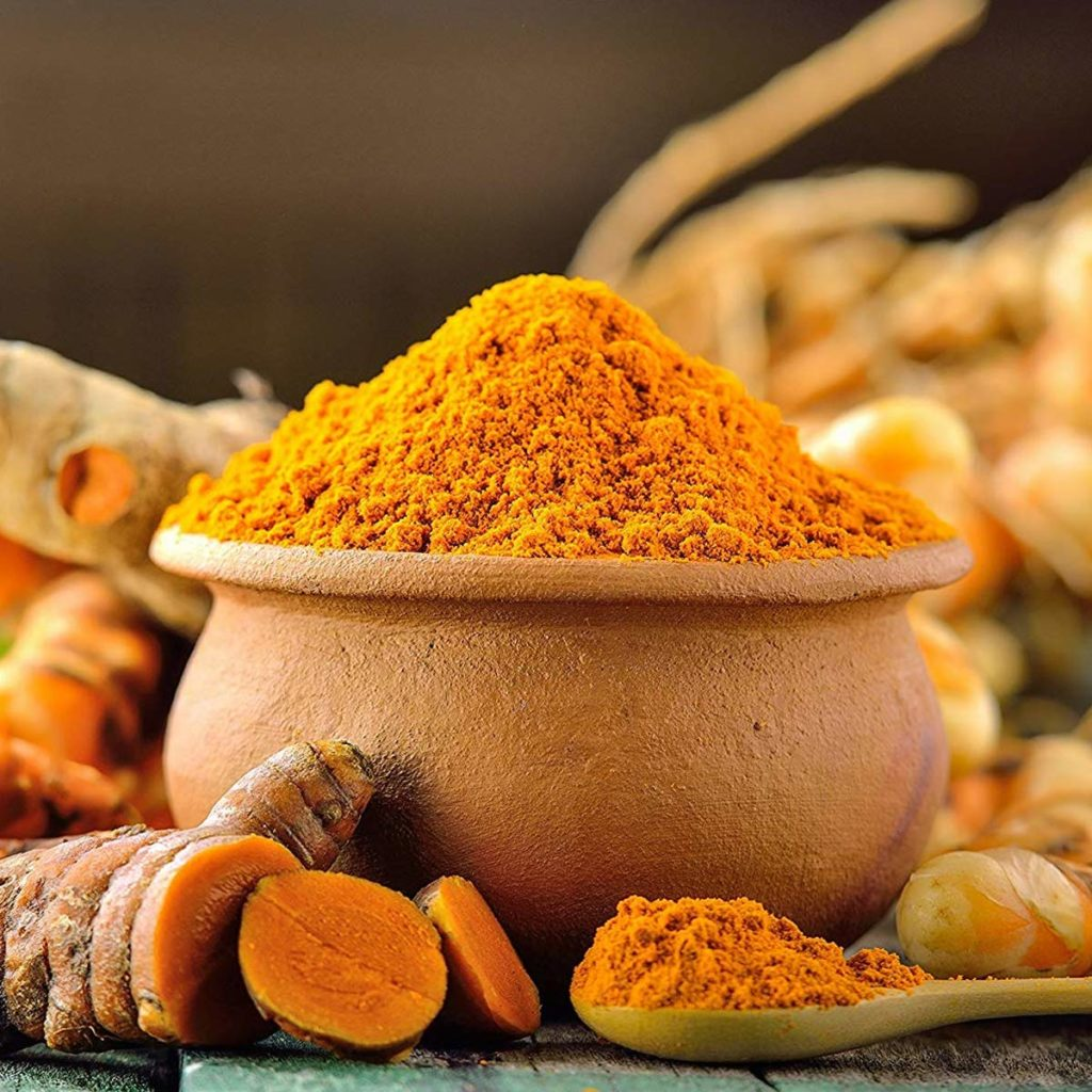 Turmeric powder also called curcumin, you can find on Amazon