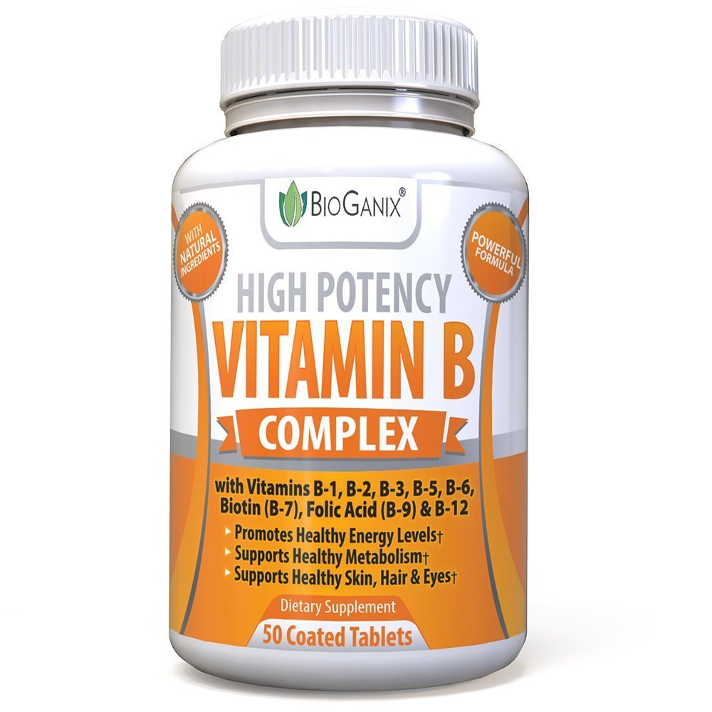 Vitamin B complex tablets can easily be found on Amazon
