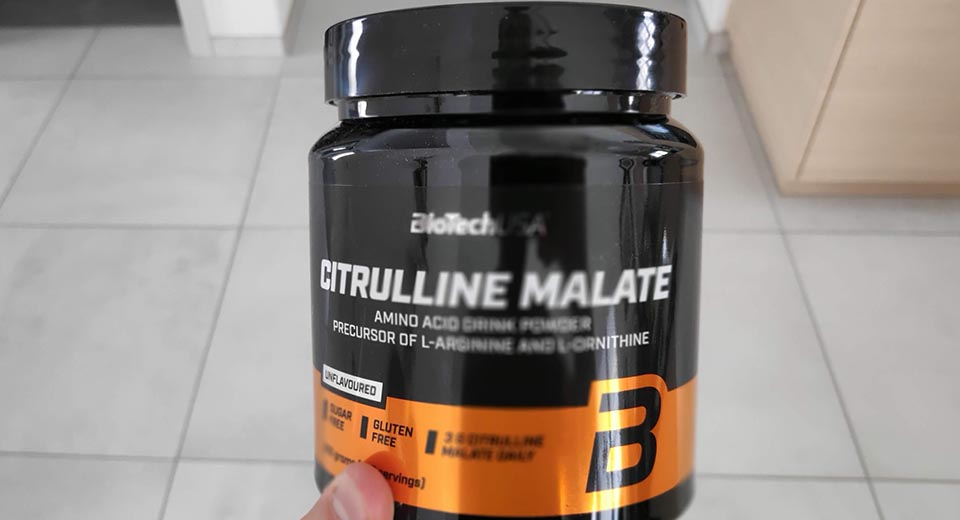 Citrulline from BioTech USA I use in my pre-workouts