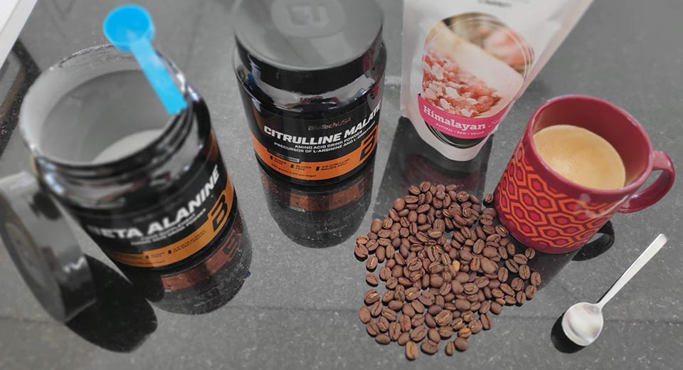 My fast-free pre-workout recipe